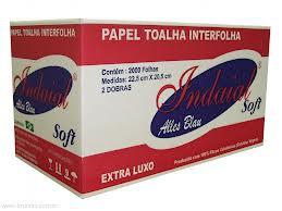 PAPEL INTERFOLHA INDAIAL CX C/2000 UNIDADES